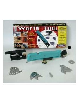 CUTTER 10 FONCTIONS WORLD-TOOL