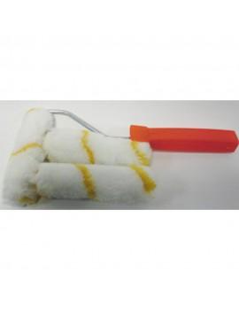 Rouleau patte de lapin 11 cm et sa monture plus 2 rouleaux recharge.