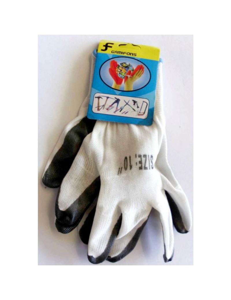 Paire de gants de protection de travail et de sécurité