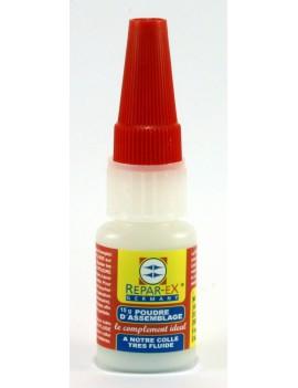 Additif d'assemblage reparex en flacon de 15 grammes