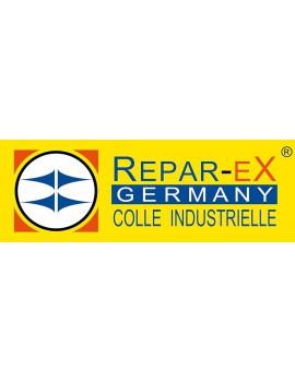 Marque repar-ex est une colle industrielle universelle et la brasure pour aluminium reparex