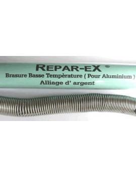 Brasure aluminium a base d'argent Reparex de 20 g