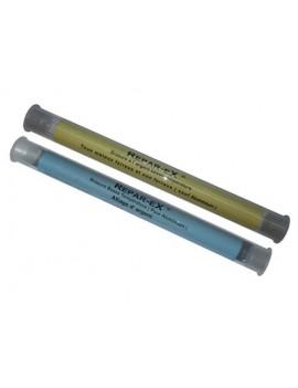 2 tubes de brasure reparex de 20 g une brasure tous metauc une brasure pour aluminium
