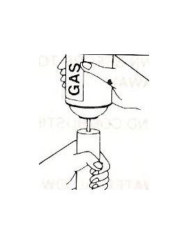 Canette de gaz 250 ml pour MINI CHALUMEAU REPAR-EX