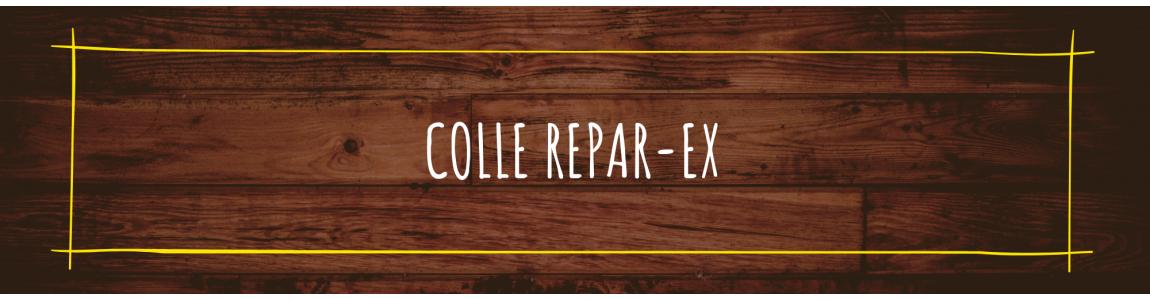 Colle repar-ex poudre assemblage reparex primaire de colle reapar ex accélérateur de colle