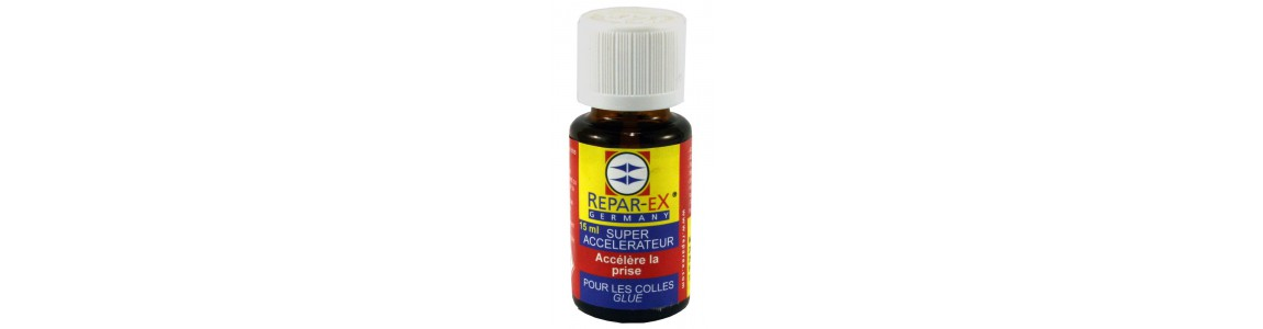 Accélérateur activateur de colle reparex collages difficiles repar-ex